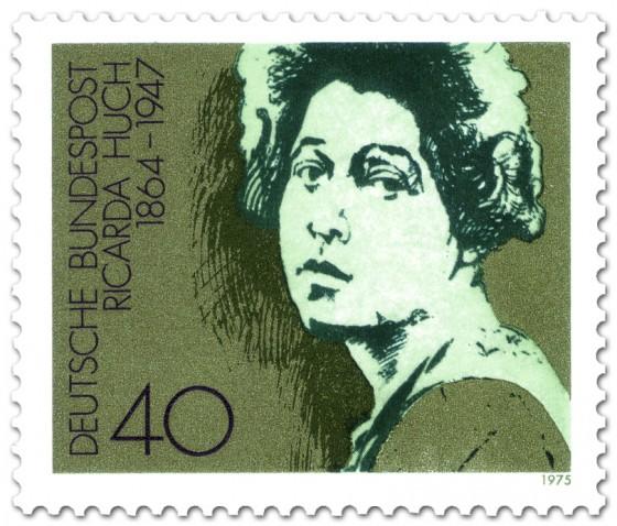 Stamp: Ricarda Huch (Dichterin)
