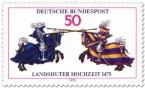 Stamp: Ritter mit Lanzen (Landshuter Hochzeit)
