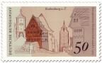 Stamp: Rothemburg ob der Tauber (Siebersturm, Plönlein)