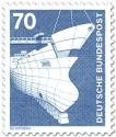 Stamp: Schiffbau, Werft