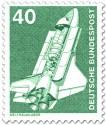 Stamp: Space-Shuttle, Weltraumlabor