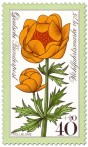 Stamp: Gelbe Trollblume