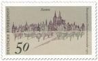 Stamp: Stadtansicht von Xanten