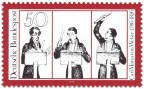 Stamp: Carl Maria Von Weber (Komponist, Karikatur)