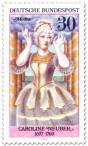 Stamp: Caroline Neuber (Schauspielerin) als Medea