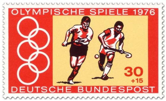 Stamp: Feldhockey Männer (Olympia 1976)