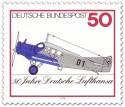 Stamp: Flugzeug Junkers F13 (50 Jahre Lufthansa)