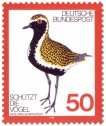 Stamp: Goldregenpfeifer (Vogel)
