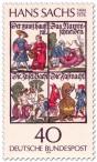 Stamp: Hans Sachs (Dichter)