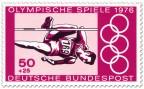 Stamp: Hochsprung der Männer (Olympia 1976)