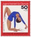 Stamp: Jugendliche beim Bodenturnen