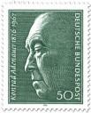 Stamp: Konrad Adenauer (100. Geburtstag)