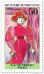 Stamp: Louise Dumont (Schauspielerin) Hedda Gabler