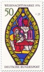 Stamp: Maria und Jesus zu Weihnachten