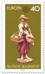 Stamp: Porzellanfigur Straßenhändlerin