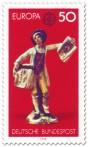 Stamp: Porzellanfigur Straßenhändler