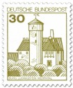 Stamp: Burg Ludwigstein Werratal