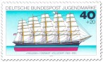 Stamp: Fünfmaster-Segelschiff Preussen (Vollschiff)