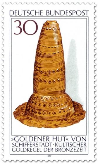 Stamp: Goldener Hut (keltisch)