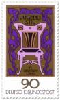 Stamp: Jugendstil Ornamente Stuhl