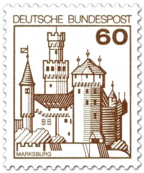 Stamp: Marksburg