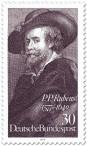 Stamp: Peter Paul Rubens Selbstportrait
