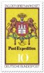 Stamp: Post-Expedition Hamburg (Tag der Briefmarke)