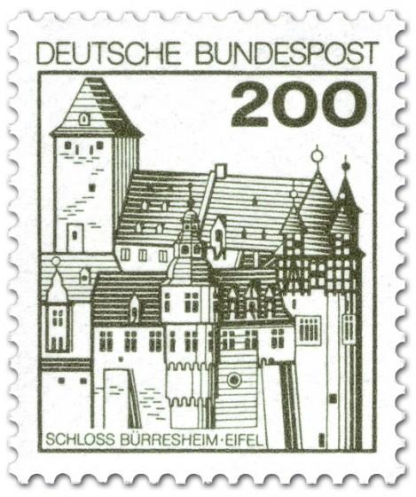 Stamp: Schloss Bürresheim / Eifel