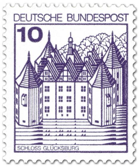 Stamp: Schloss Glücksburg