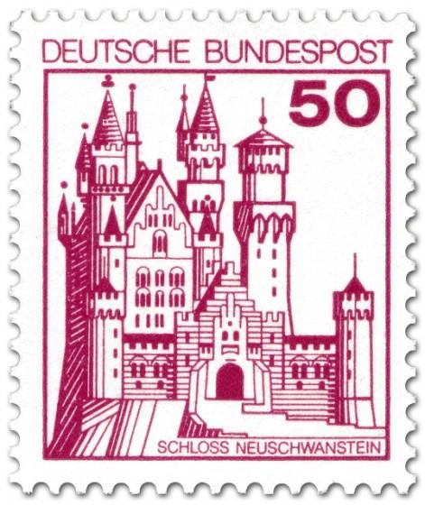 Stamp: Schloss Neuschwanstein