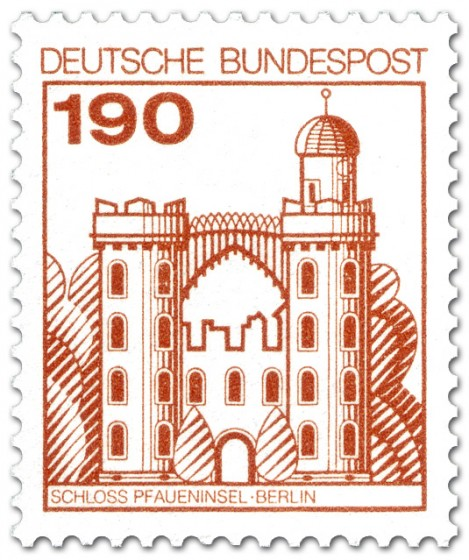 Stamp: Schloss Pfaueninsel Berlin