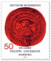 Stamp: Siegel der Phillips-Universität Marburg