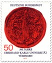 Stamp: Siegel der Universität Tübingen