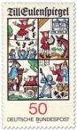 Stamp: Till Eulenspiegel Illustrationen
