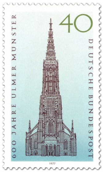 Stamp: 600 Jahre Ulmer Münster