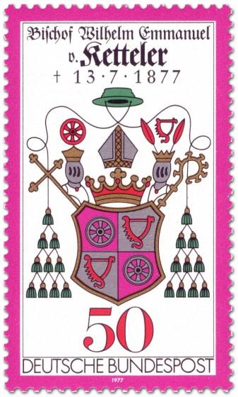 Stamp: Wappen Willhelm Emmanuel von Ketteler (Bischof)