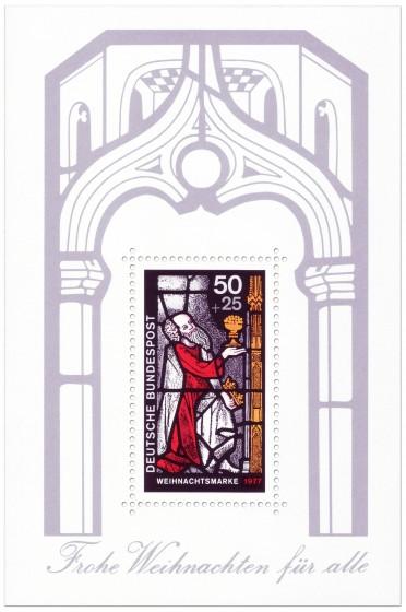 Stamp: Weihnachtsmarke 1977