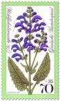 Stamp: Wiesensalbei