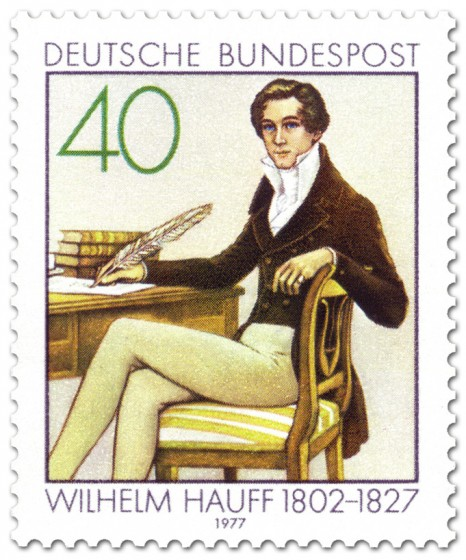 Stamp: Wilhelm Hauff (Märchenerzähler)