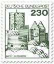 Stamp: Burg Lichtenberg in der Pfalz
