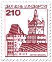 Stamp: Burg Schwanenburg