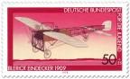 Stamp: Eindecker von Louis Blériot