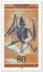 Stamp: Fossil: Fledermaus