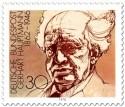 Stamp: Gerhardt Hauptmann Schriftsteller