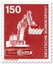 Stamp: Löffelbagger, Schaufelbagger