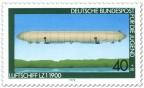 Stamp: Luftschiff LZ 1 1900