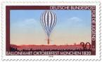 Stamp: Ballonfahrt auf dem Oktoberfest München