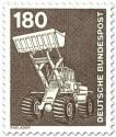 Stamp: Radlader, Bagger