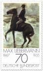 Stamp: Reiter am Strand von Max Liebermann
