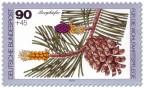 Stamp: Bergkiefer Frucht und Zapfen